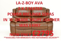 La-Z-Boy Ava **Stock Clearance** Save Over 45%!**