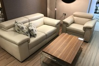 Natuzzi Editions Sicily (B817) Ex Display **Save Over 50%**
