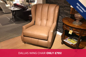 Wade Dallas Wing Chair - Save 55%!