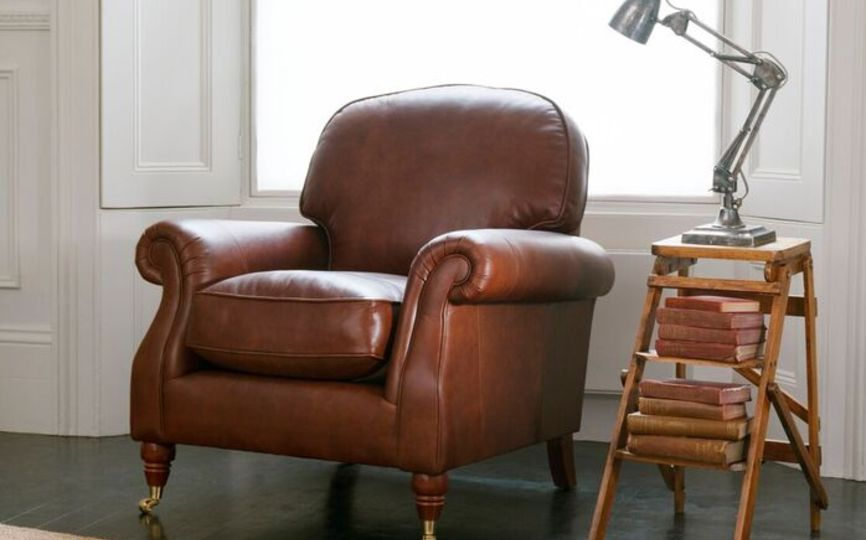 Parker knoll westbury furniture timeless design for Westbury leather sofa