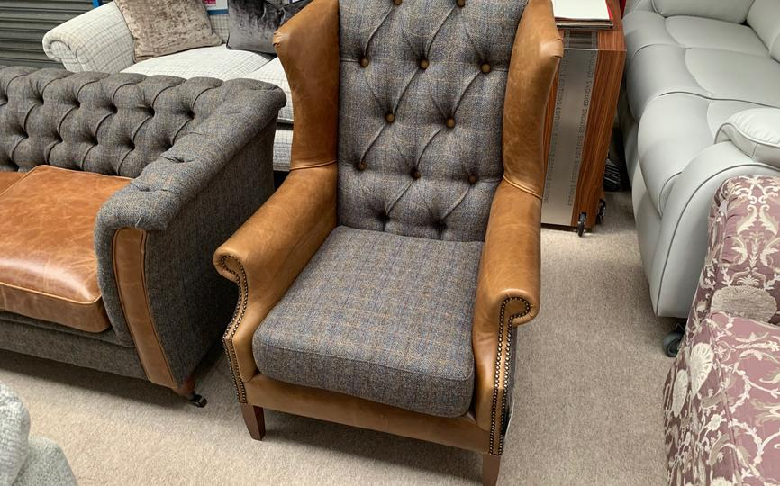 Vintage Wing Chair - save 50%