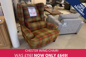 Chester Wing Chair - Save 40%